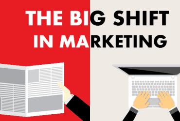 Big shift in marketing
