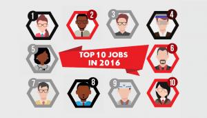 Top jobs 2016
