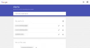 Google Alerts Tool